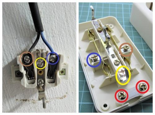Cara memasang kabel pada stopkontak