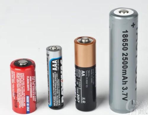 baterai untuk senter taktis