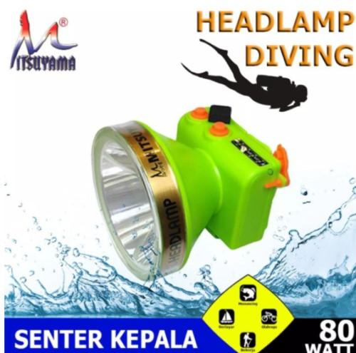 Headlamp diving mitsuyama