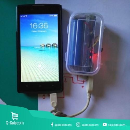 DIY Powerbank dari Baterai Senter