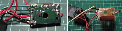Modul charger untuk baterai isi ulang pada senter