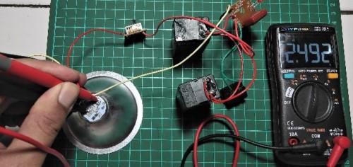 Cek LED pada senter apakah rusak atau tidak