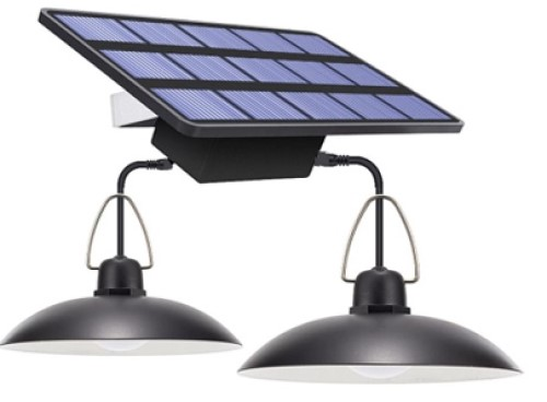 Lampu gantung tenaga surya