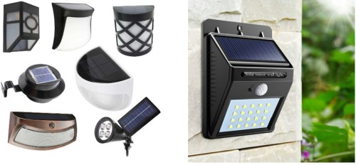 lampu dinding solar cell