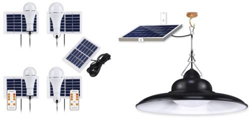 Lampu indoor solar cell