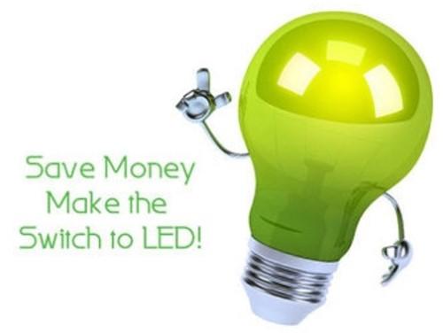 Hemat uang dengan lampu LED