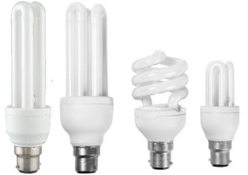 macam bentuk lampu CFL