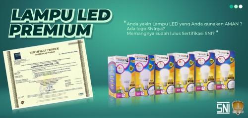 lampu LED premium kualitas nomor 1