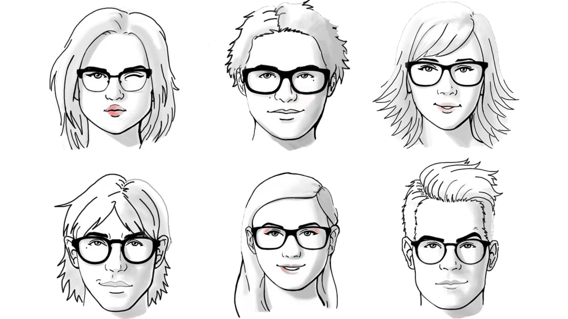 Cum alegi ochelarii in functie de forma fetei