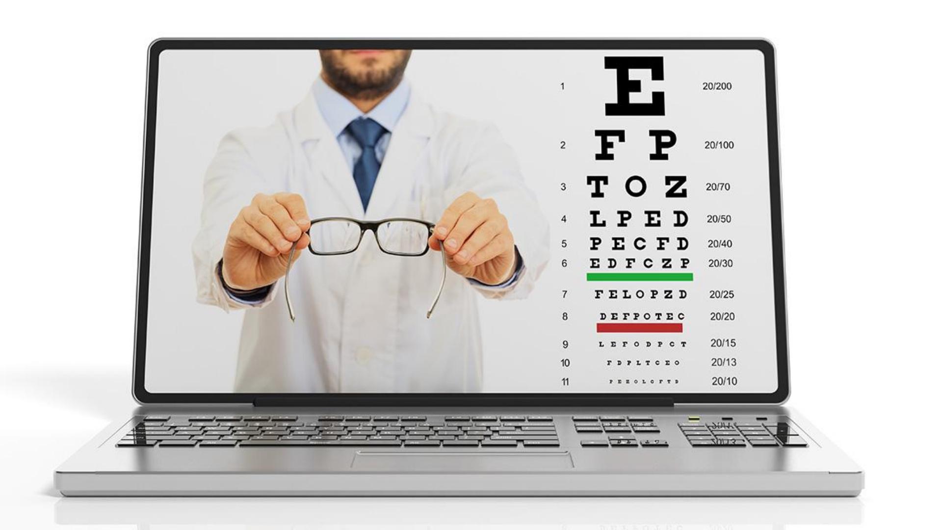 Teste de vedere online sau vizita la medicul oftalmolog