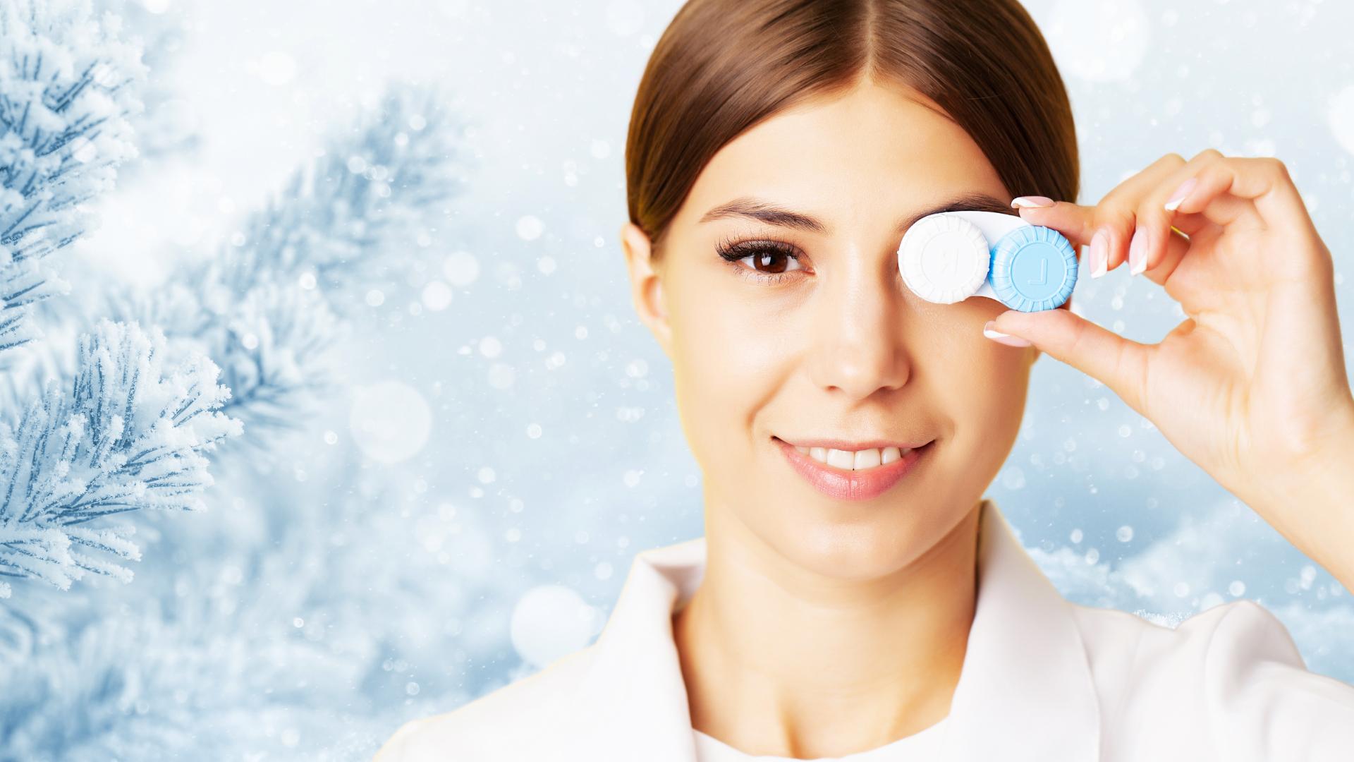 Ce trebuie sa stii despre purtarea lentilelor de contact iarna