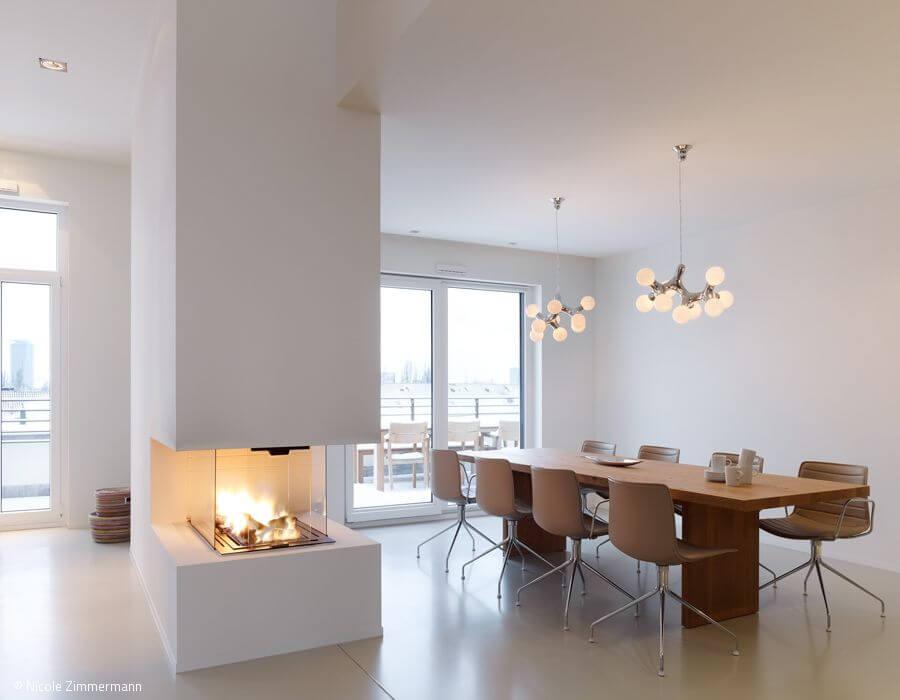 Smart Home Projekt (KNX, Lichtszenen, Multiroom) – Penthouse mit Loftcharakter