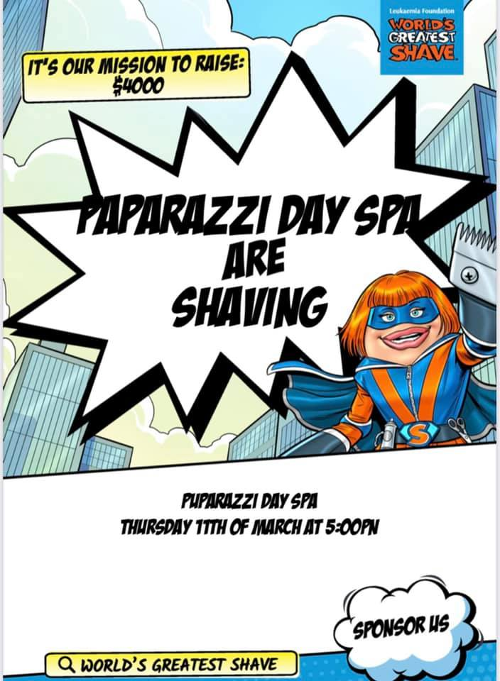 World's Greatest Shave Fundraiser