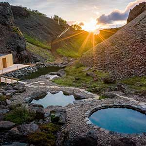 There is no experience more authentically Icelandic than hiking through the surreal landscapes of the highlands followed by a relaxing soak in a geothermal pool.