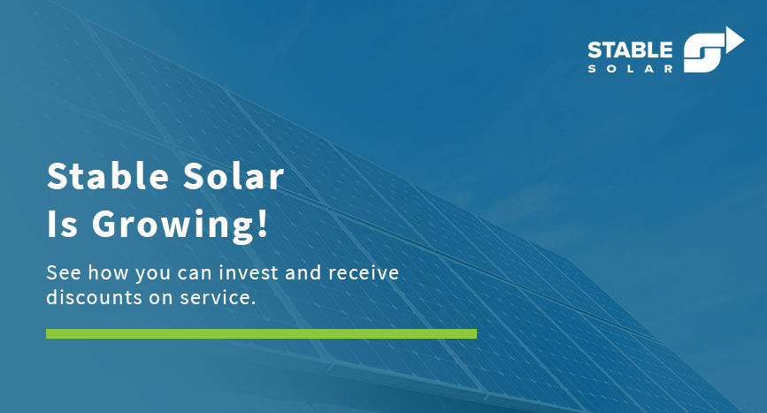 Stable Solar Starts Crowdfunding Campaign