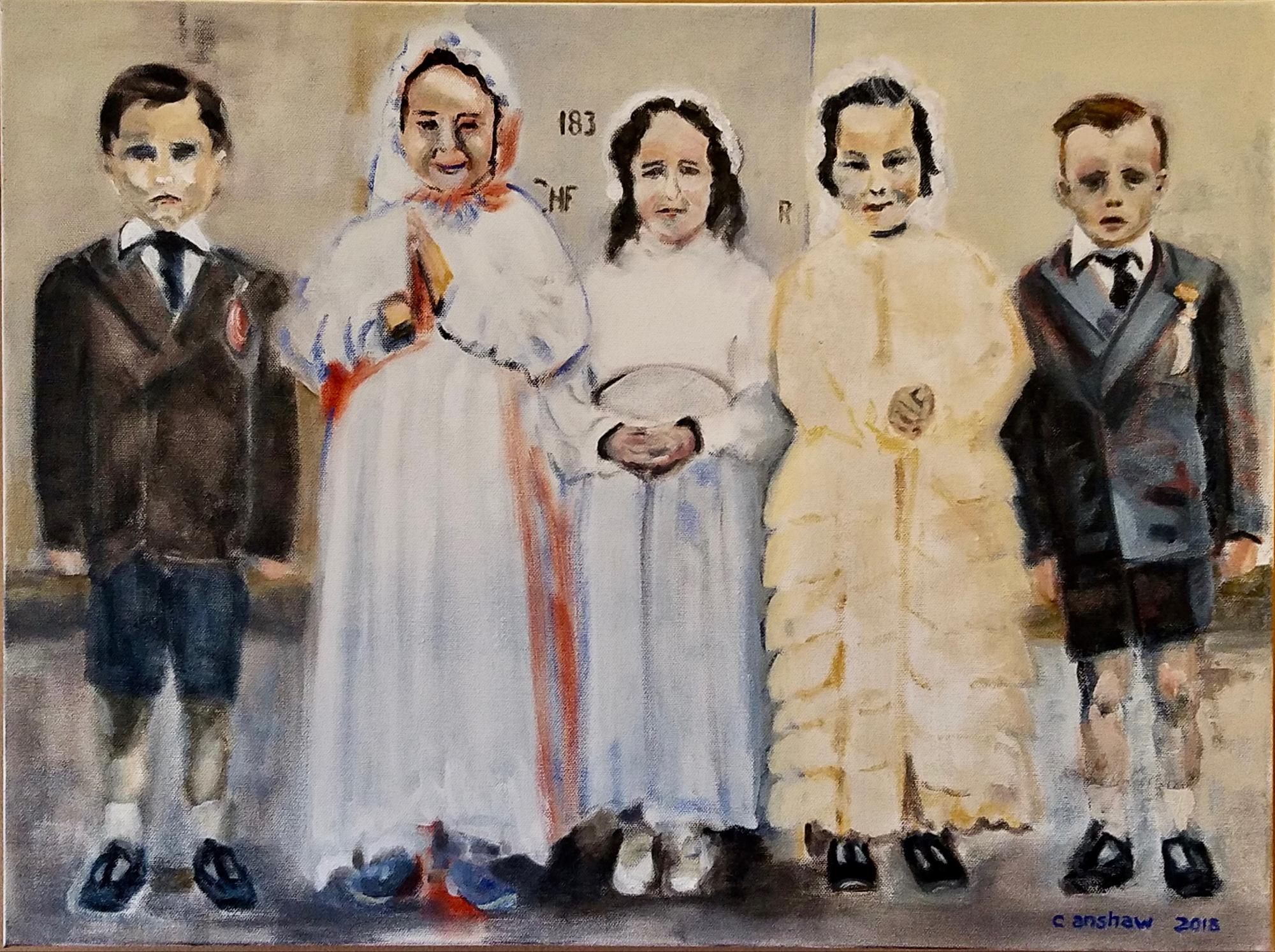 Children at Tuam