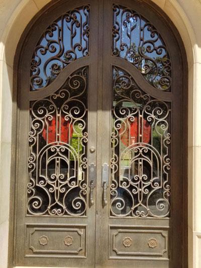 Double Iron Door for House