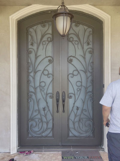 Dual Iron Door for Home