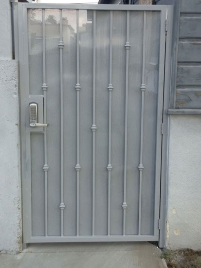 Small Metal Swing Side Door