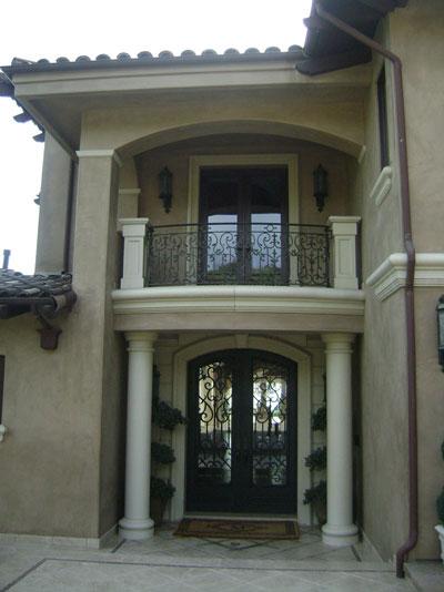 Door and 2nd Floor Window Rails