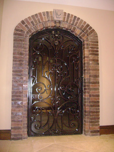 Big Iron Design Door for House