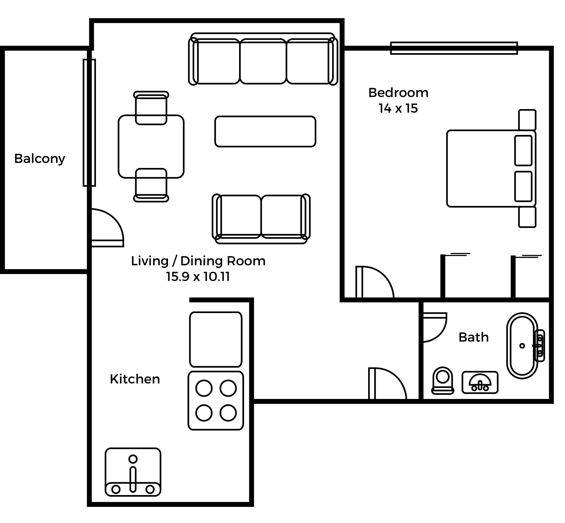 Eastwood Suite floorplan