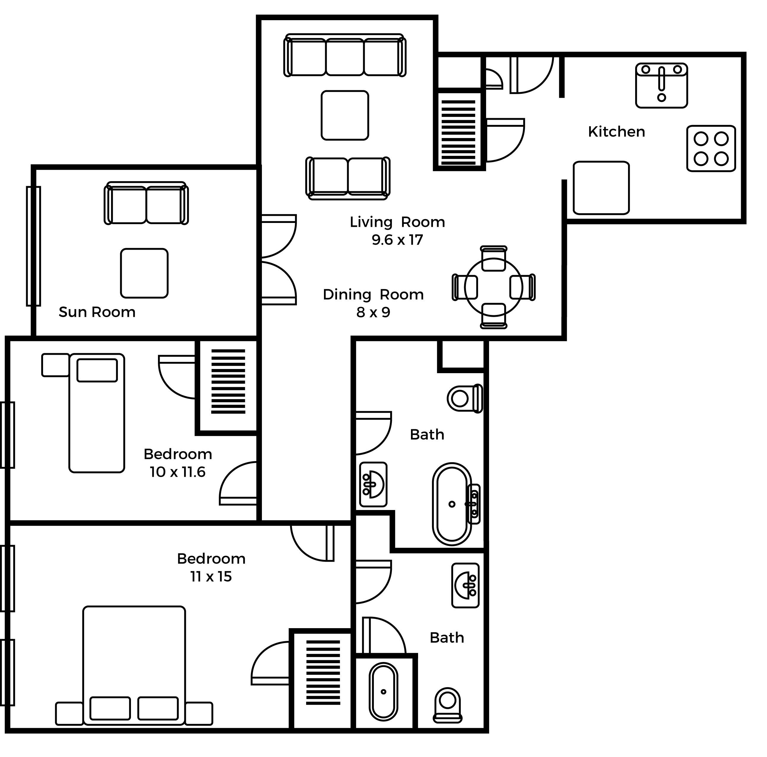 Wellington C floorplan