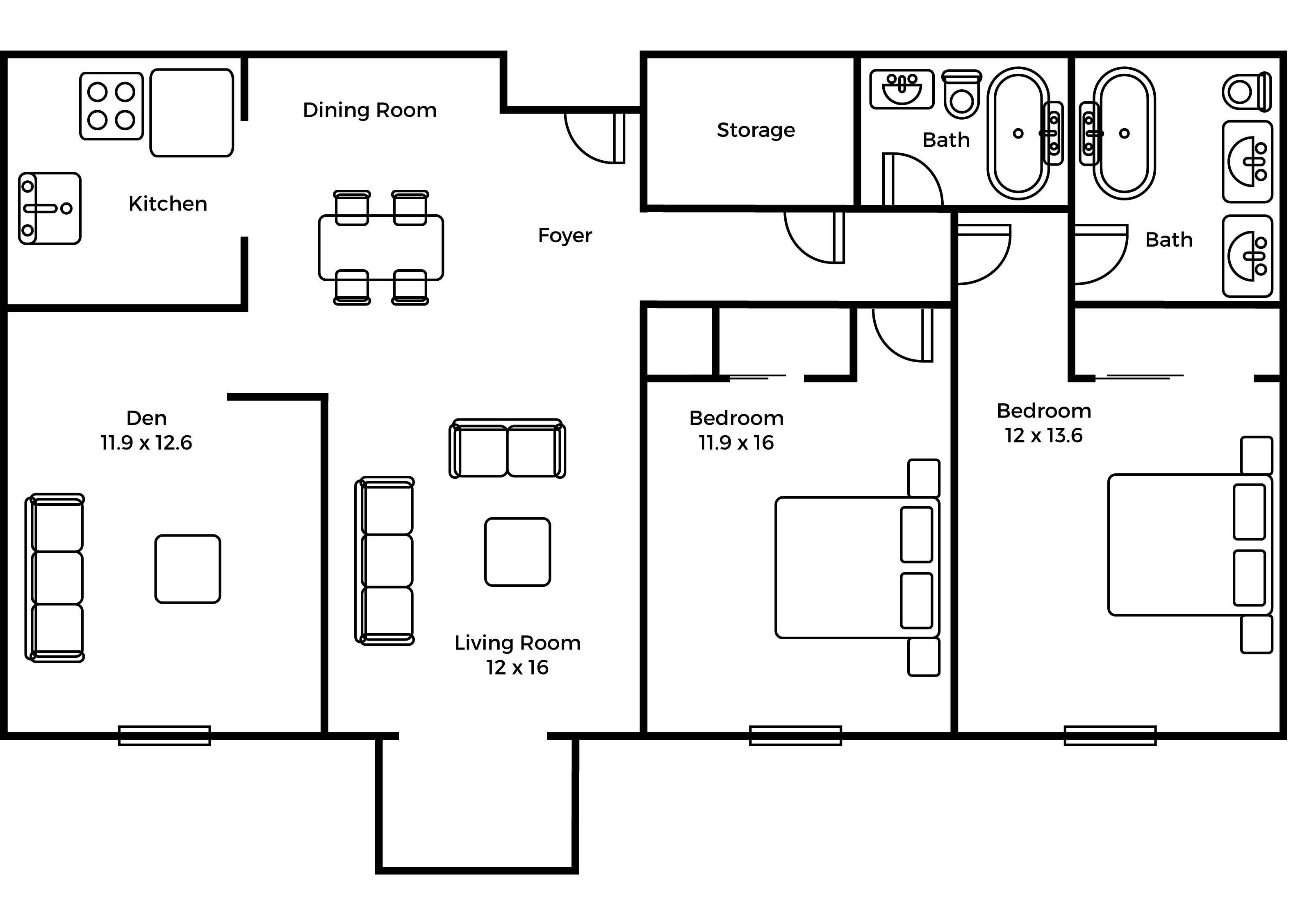Regency deluxe floorplan