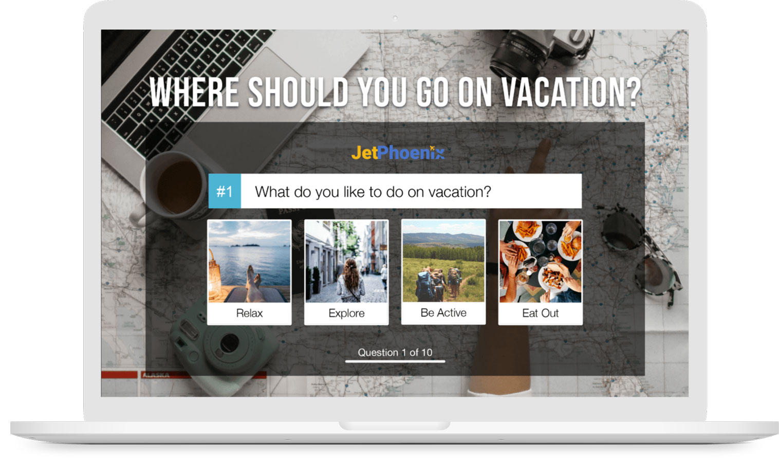 Where Should You Go On Vacation personality quiz.