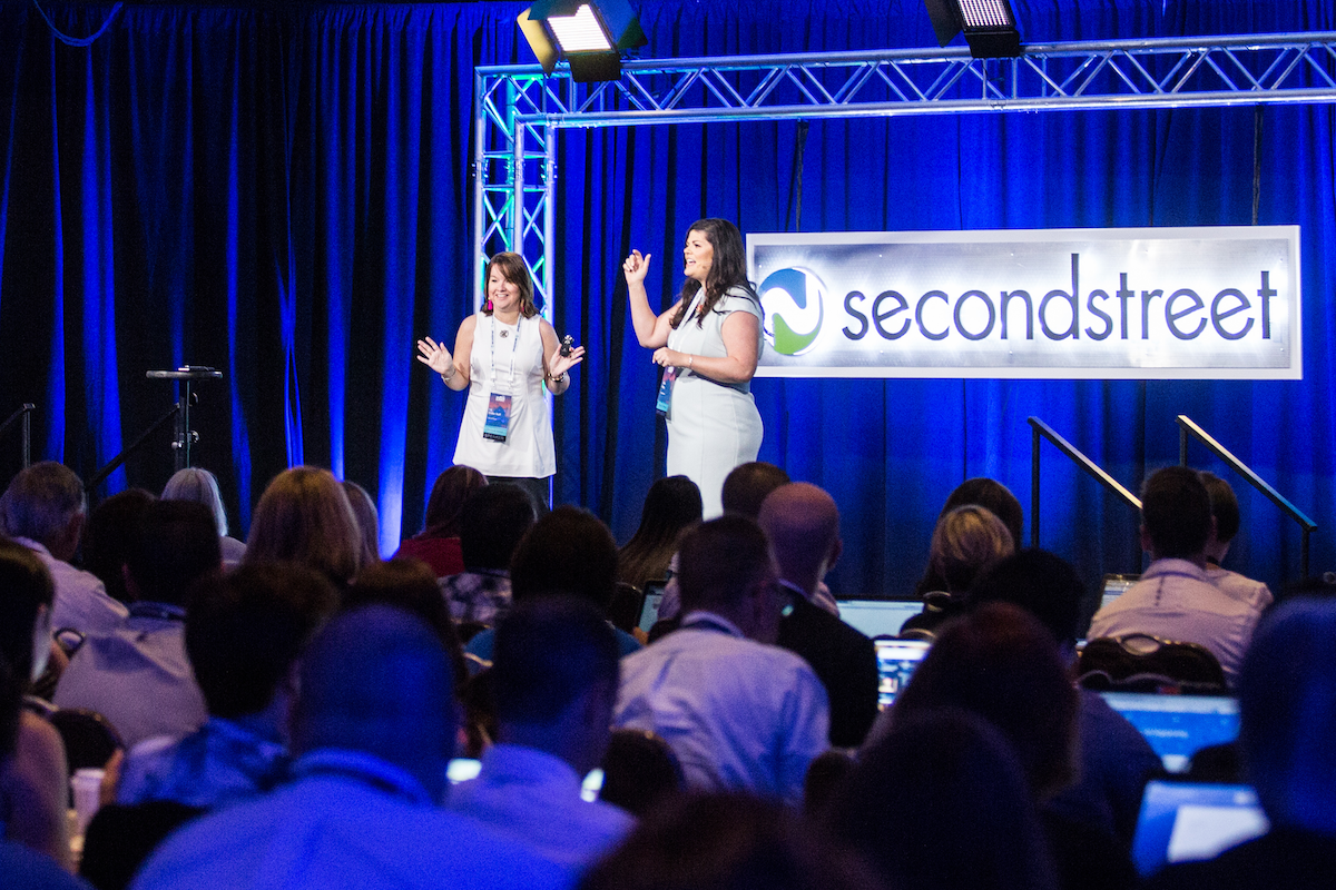 Second Street employees at the Second Street Summit.