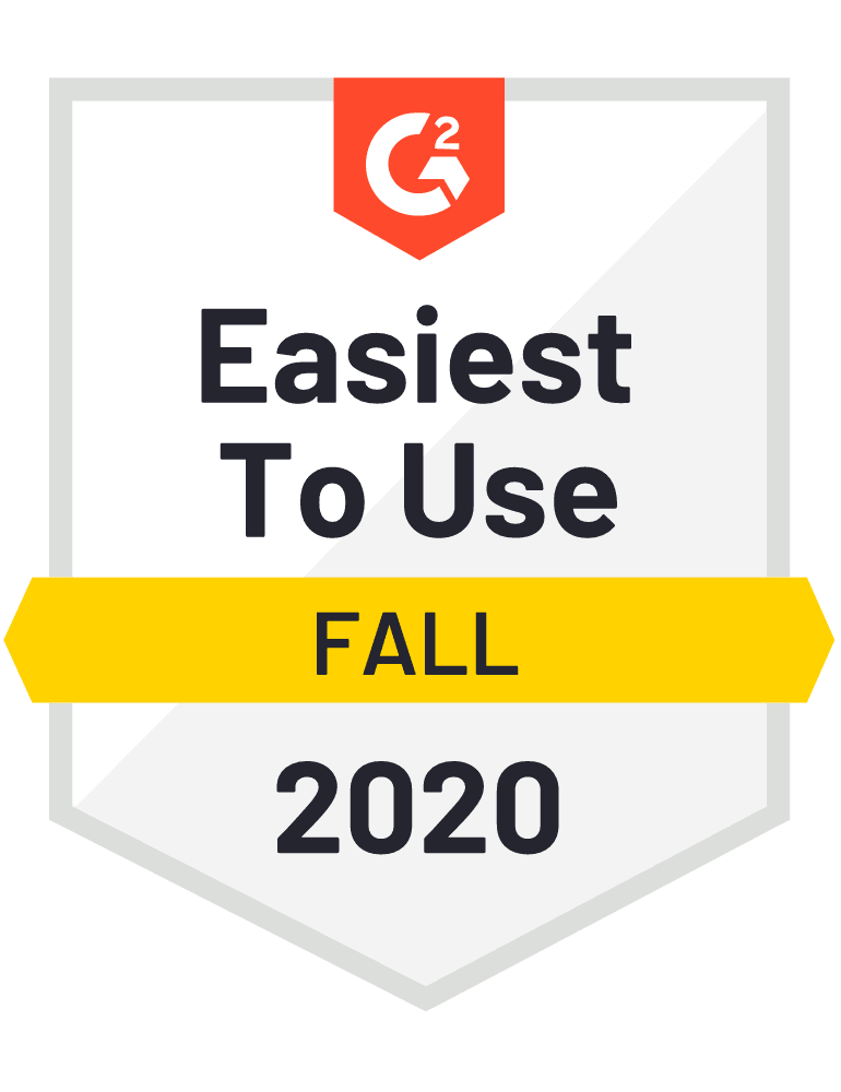 Easiest To Use in Lead Capture and Sweepstakes categories for Fall 2020