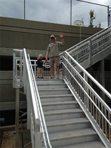 ADA Compliant Stairs