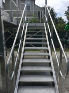 Maintenance Access Stairs