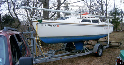 How to Trailer a Sailboat | Life of Sailing