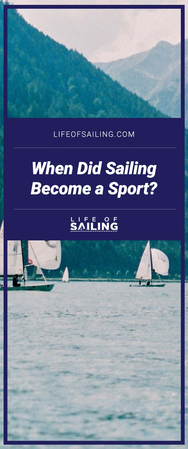 When did Sailing become a Sport?