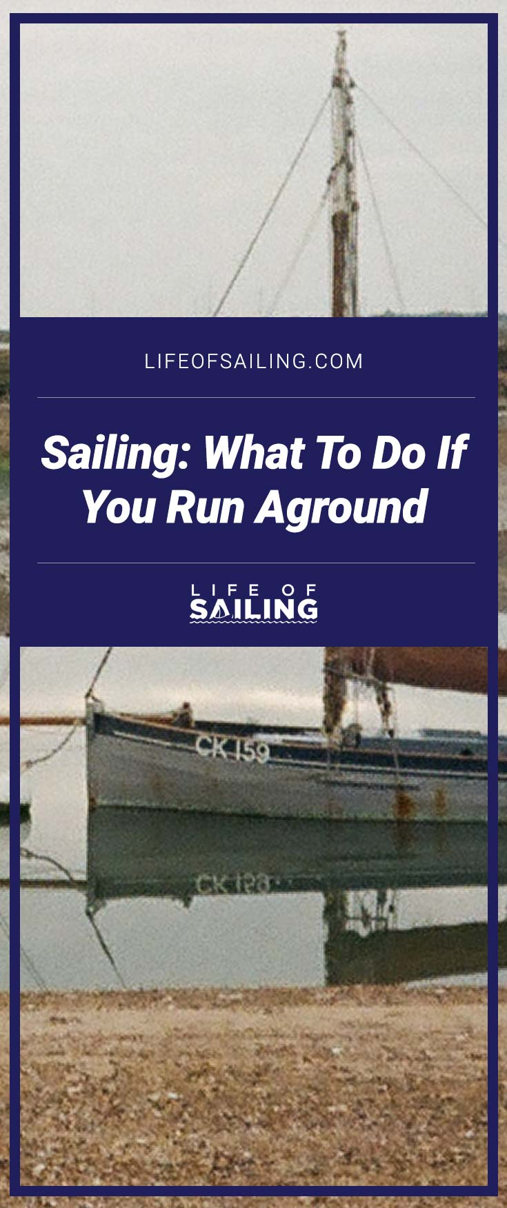 What To Do If You Run Aground While Sailing