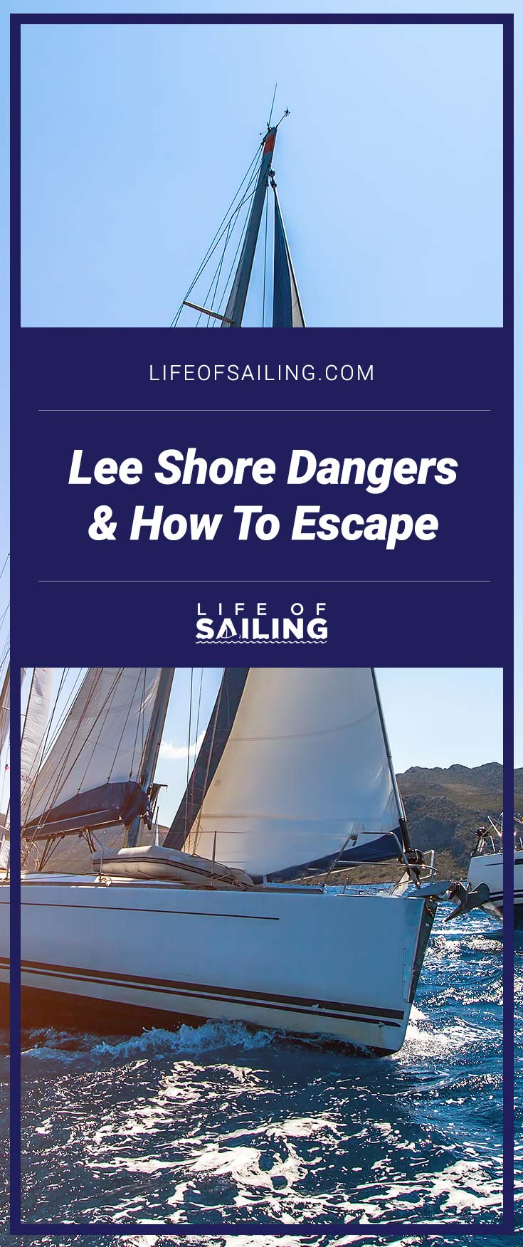Lee Shore Dangers and How To Escape