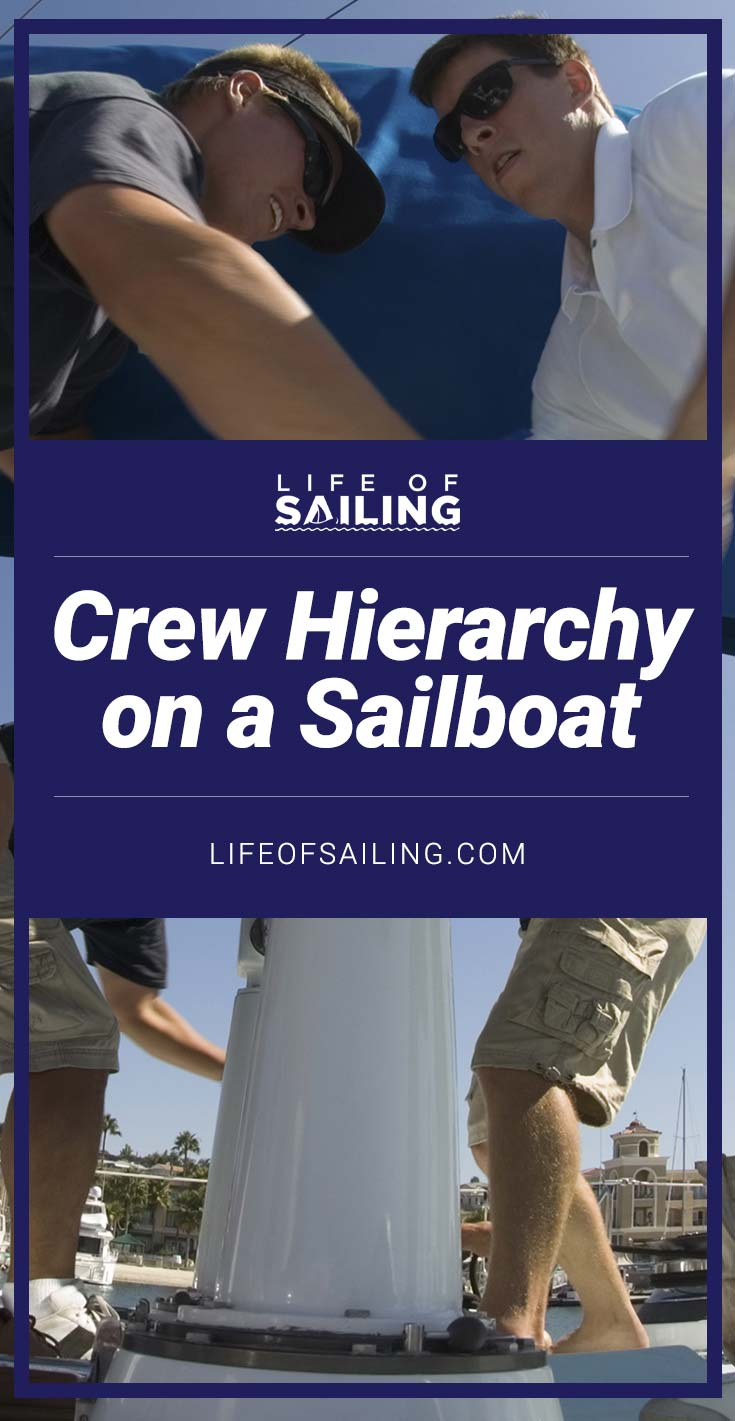 Crew Hierarchy on a Sailboat
