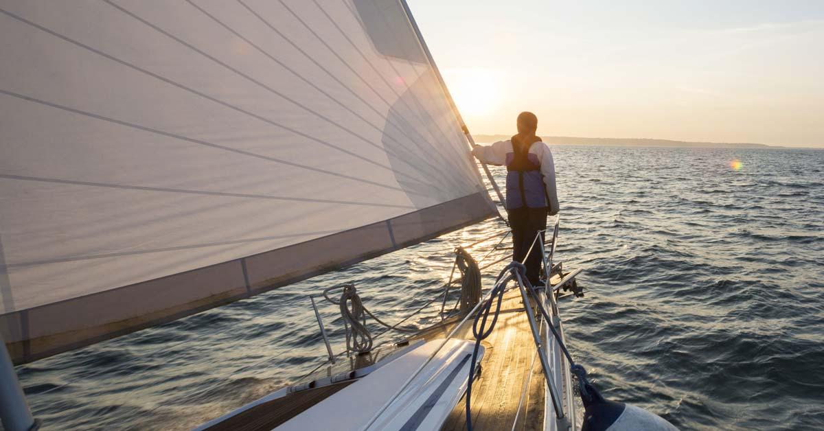 Sailing On The Jib Alone | Life of Sailing