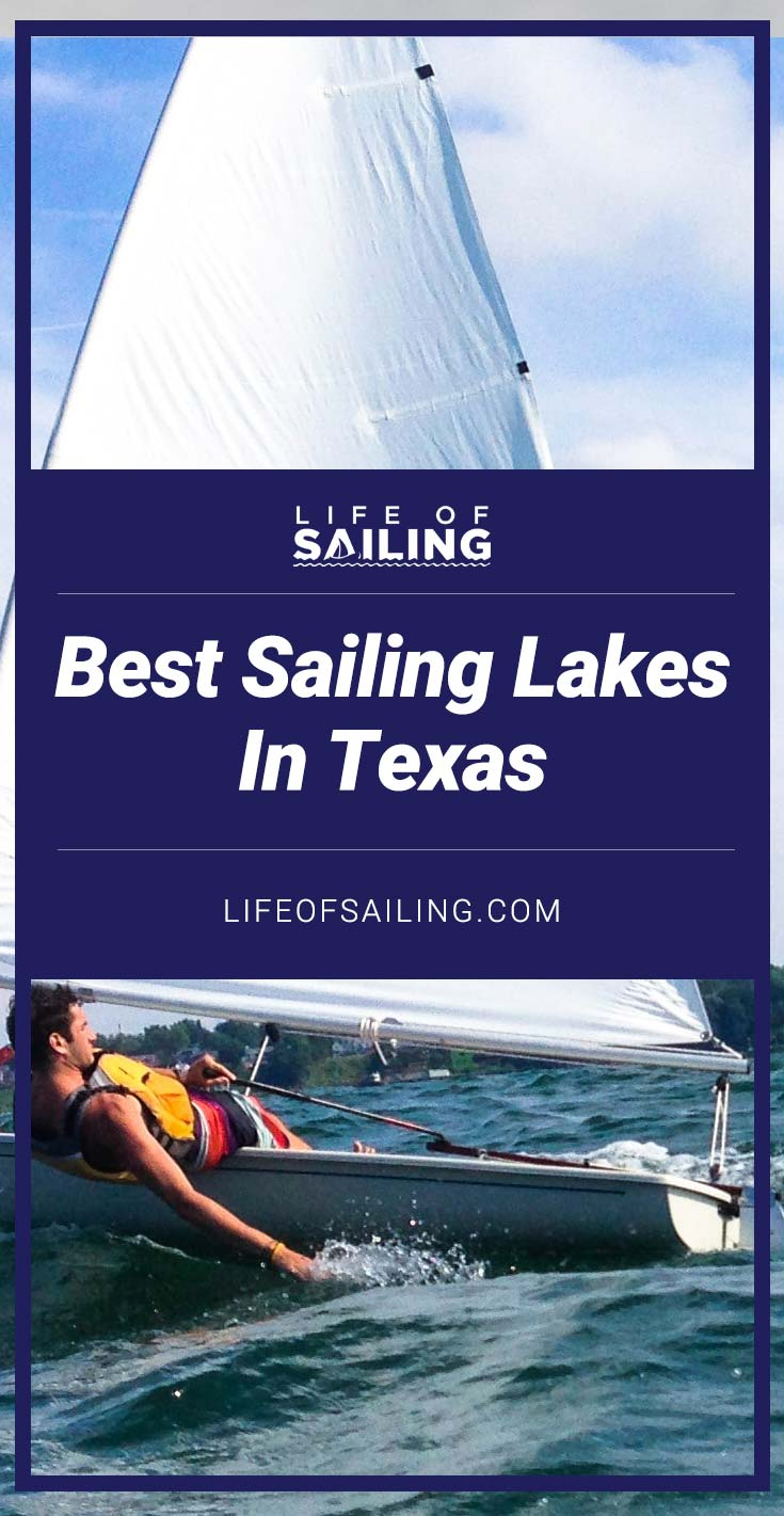 Best Sailing Lakes in Texas