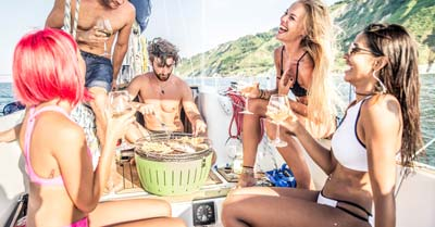 Best Sailboat Grills | Life of Sailing