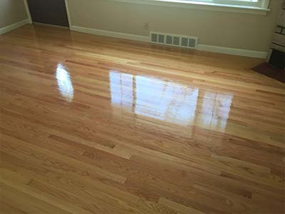 Hardwood floor cleaning by HYPER