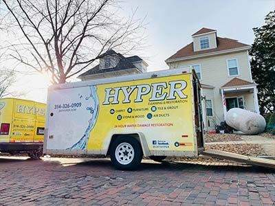 HYPER cleaning truck