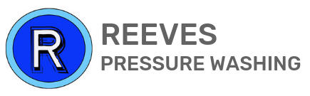 reeves pressure washing logo