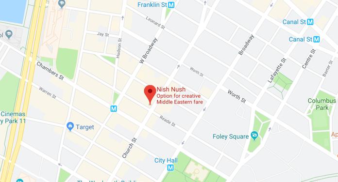 Nush Nush Map