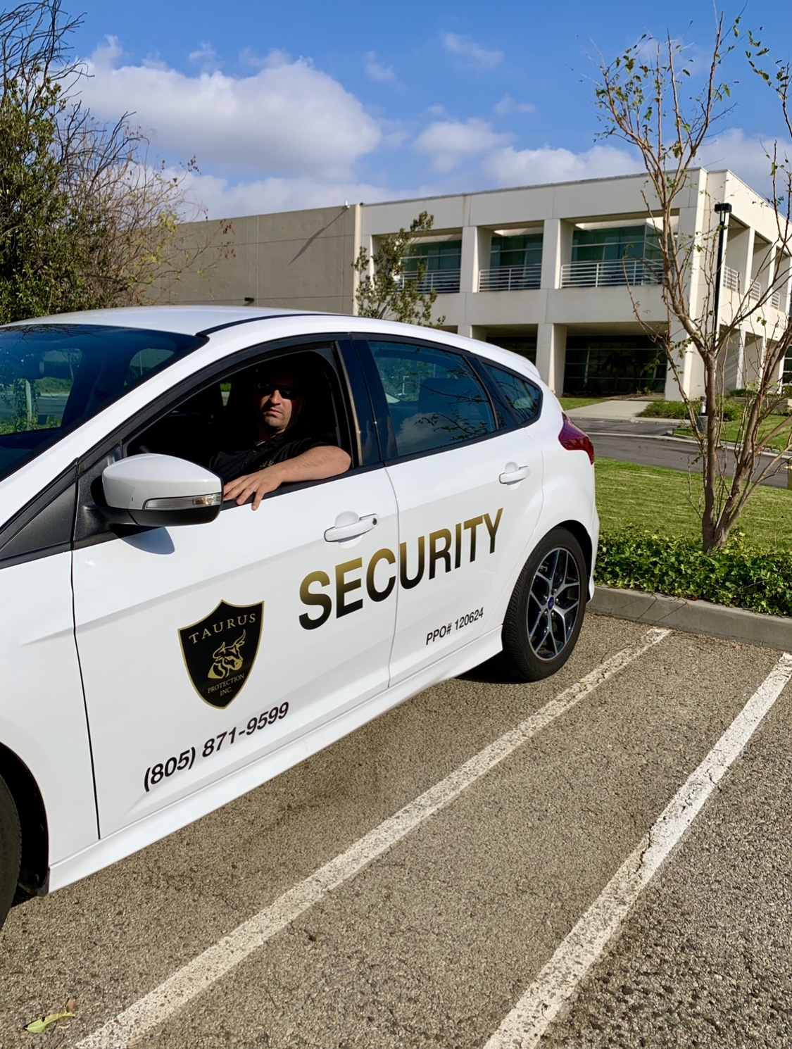 Taurus Protection Security Agent with Guard Dog  Picture