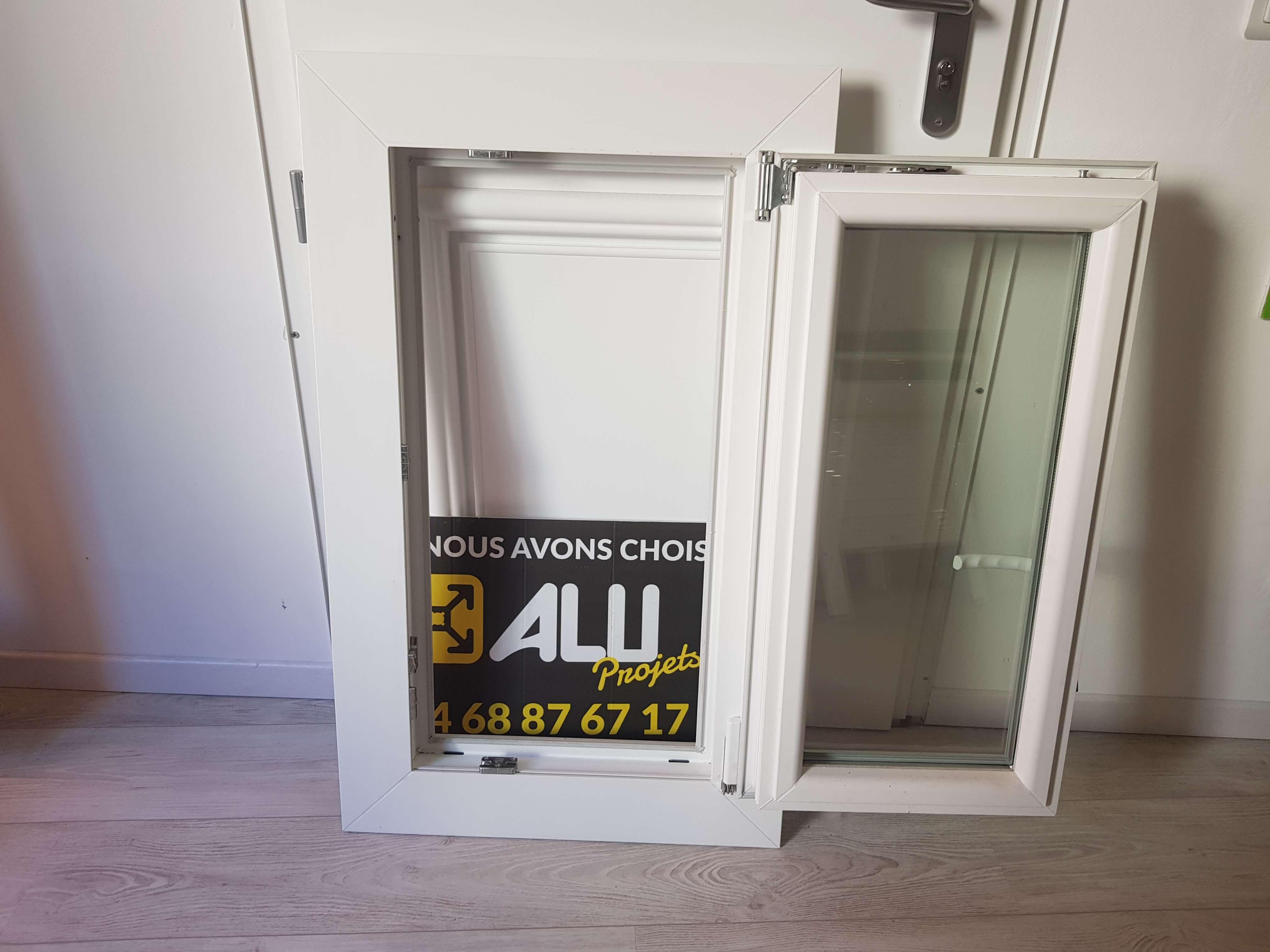 Photo d'une fenêtre occasion aluprojets.fr