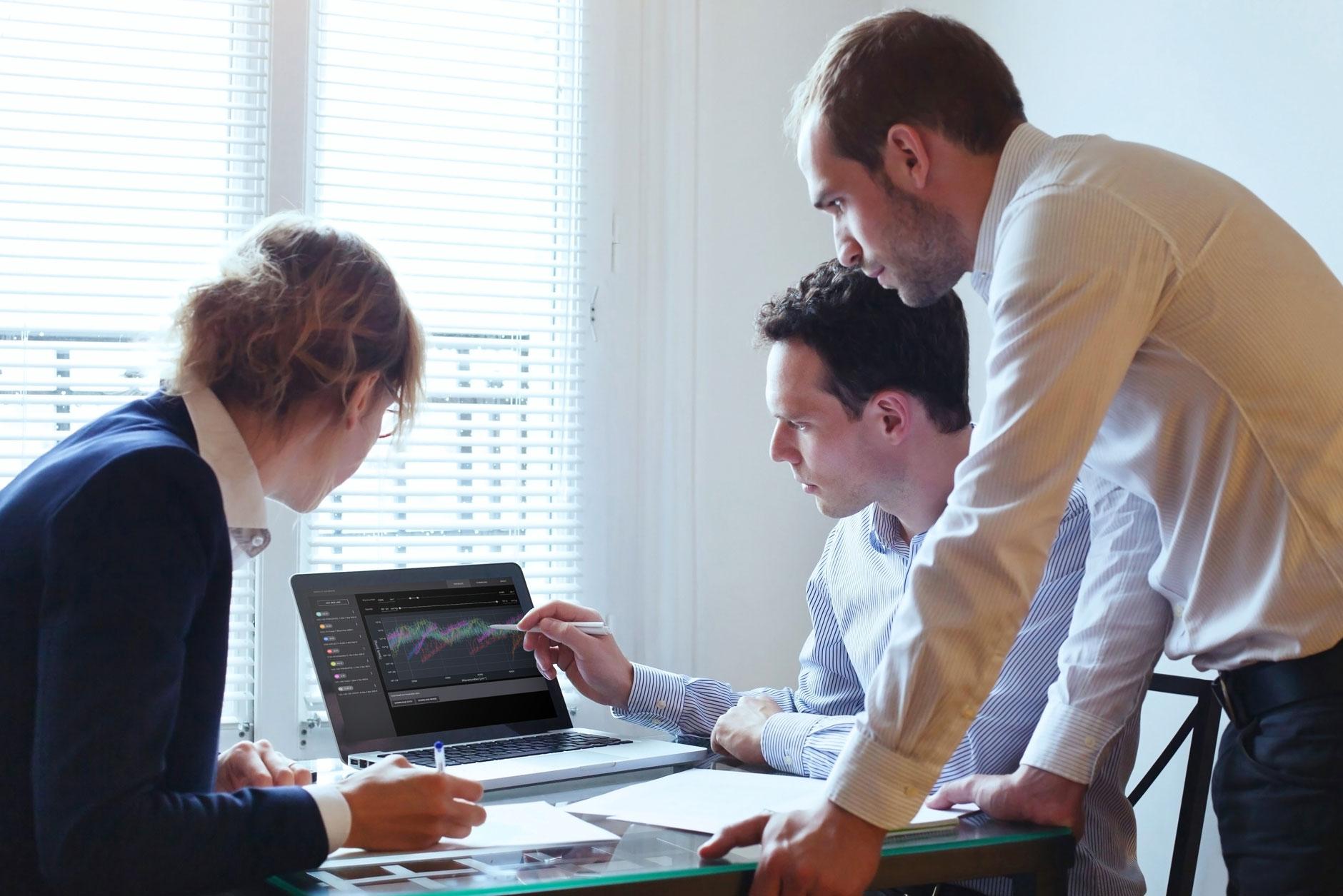 Team using Opacity Database