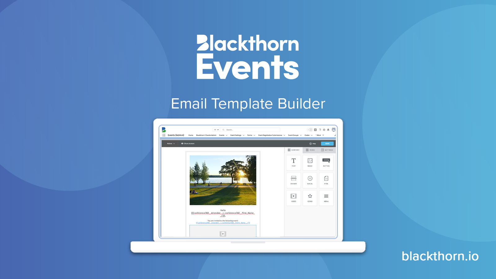 Connect with Attendees Pre and Post Event Using our New Email Template Builder