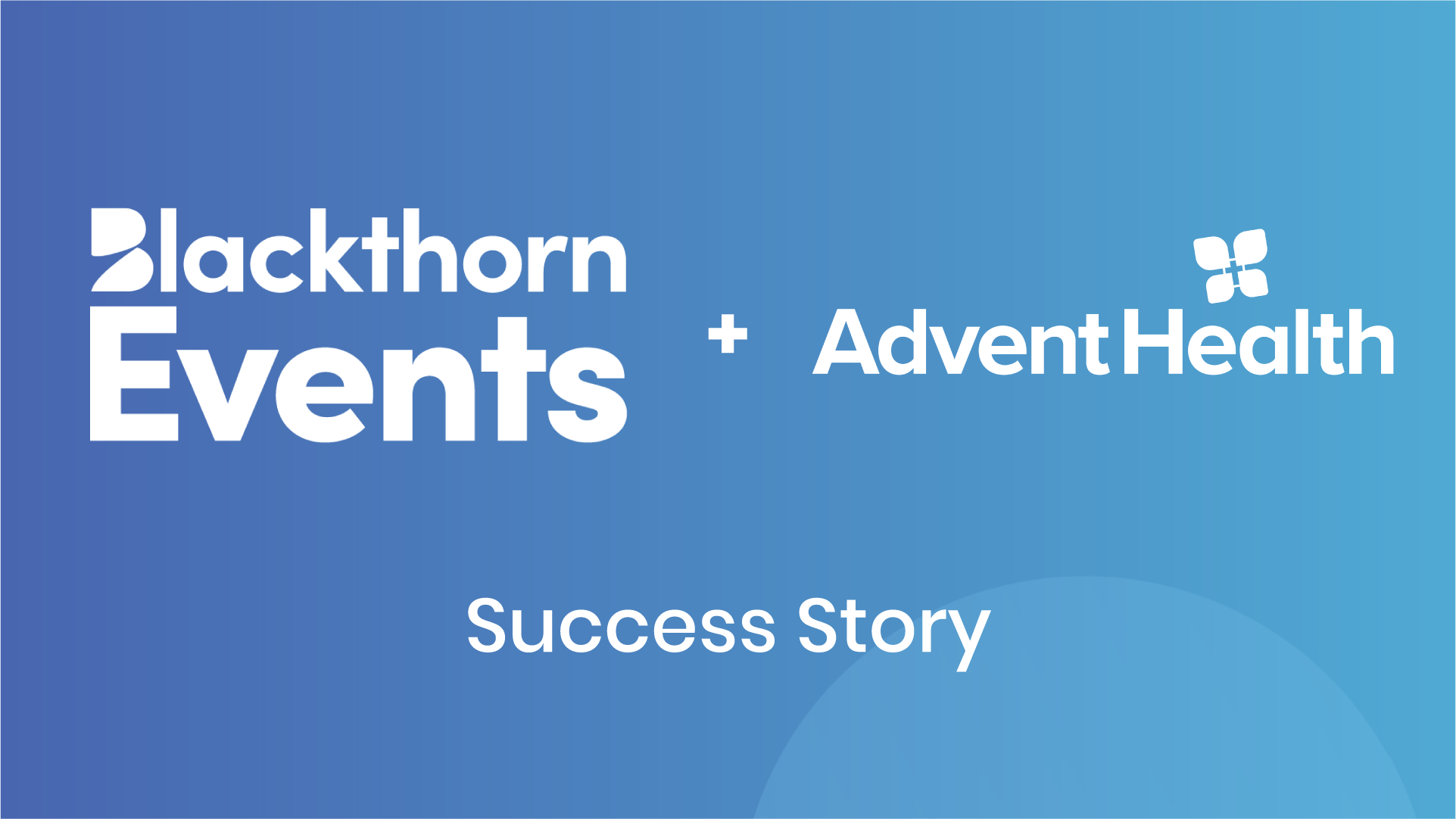 When Speed Matters: How Blackthorn Events Helped AdventHealth With COVID Vaccinations...Fast